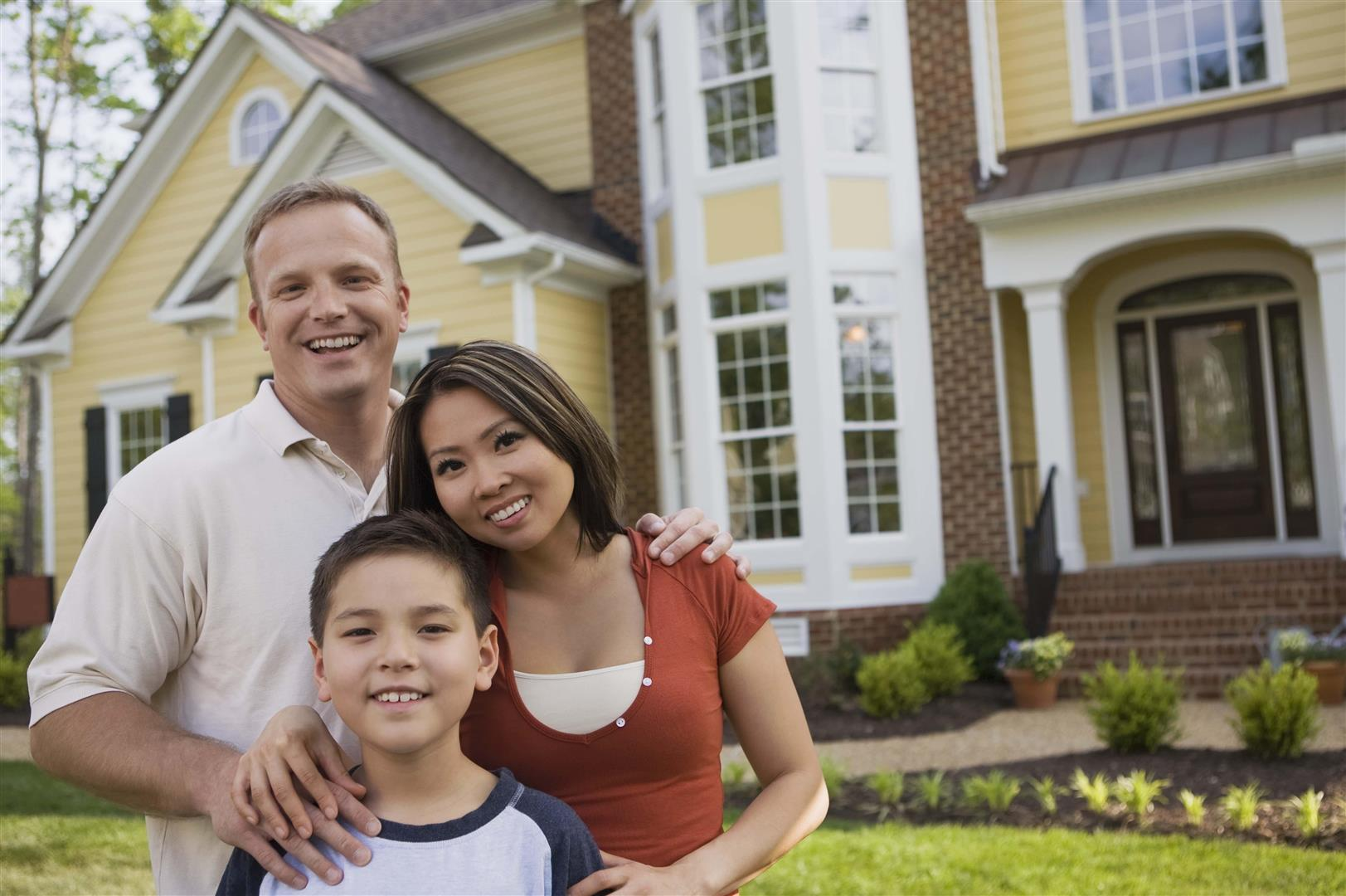 A family who has just listed their property for sale in Baker City, OR